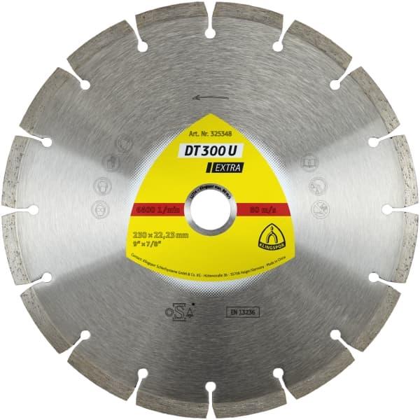 DT 300 U Extra Diamond Cutting Wheel Image