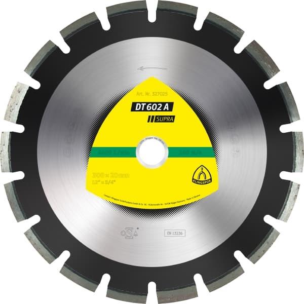 DT 602 A Supra Diamond Cutting Wheel Image
