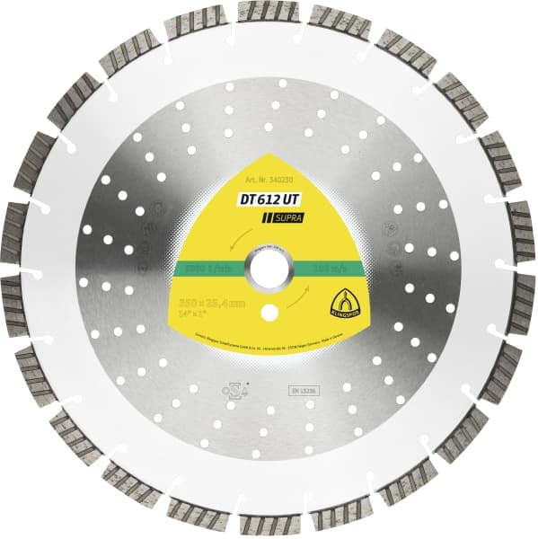 DT 612 UT Supra Diamond Cutting Wheel Large Image