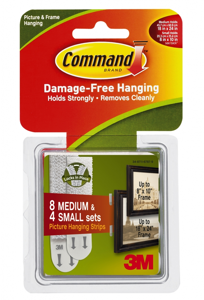 3M 17203 Picture Hanging Strips Image