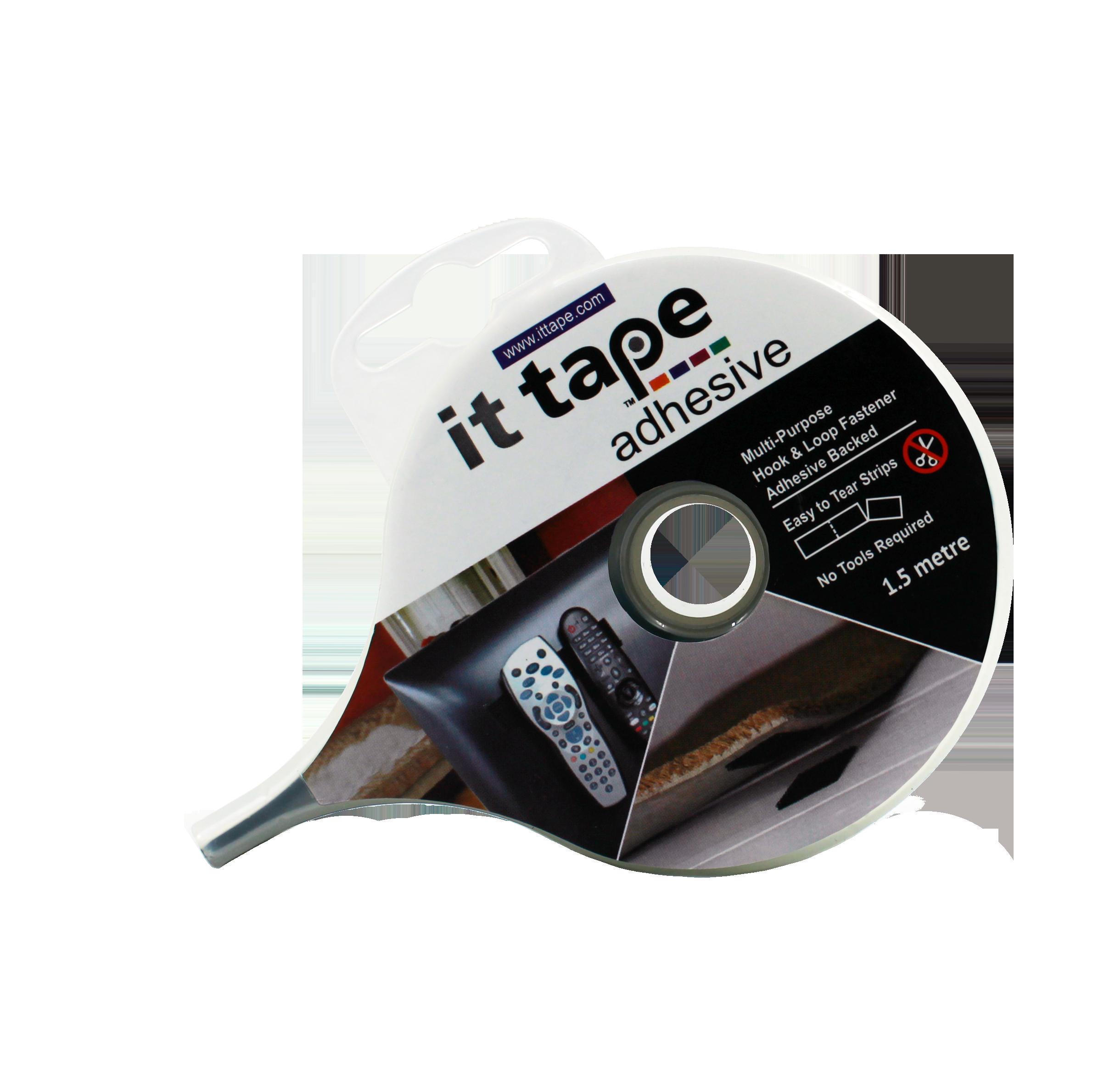 ITBK2 - IT Tape Adhesive Backing Velcro Tape Image