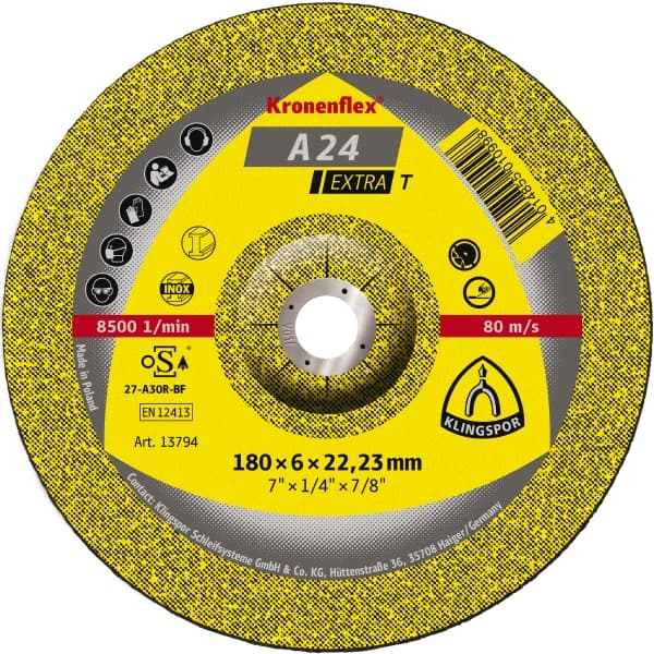 Crownflex A 24 Extra T Grinding Disc Image