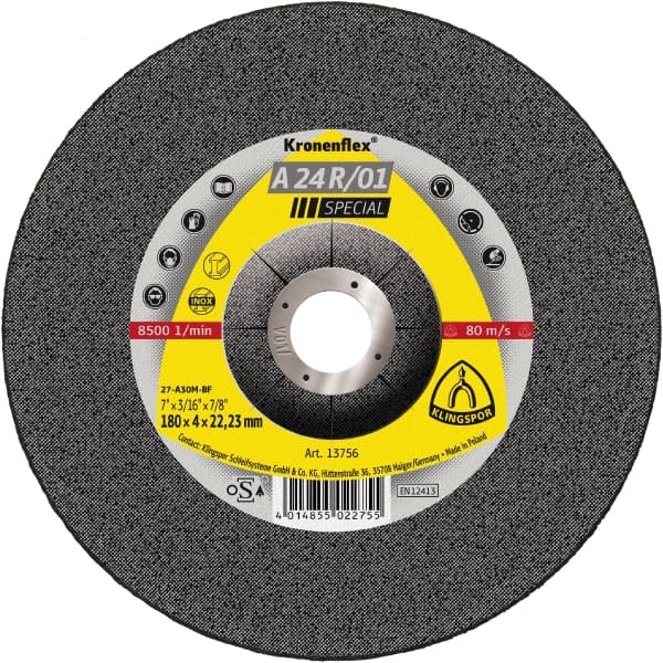 Crownflex A 24 R/01 Special Grinding Disc Image