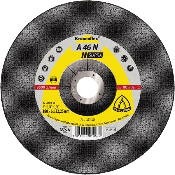 Crownflex A 46 N Supra Grinding Disc Image
