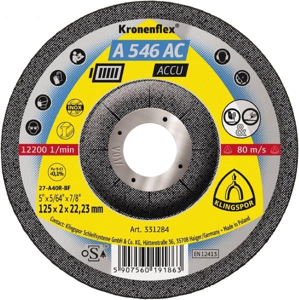 Crownflex A 546 AC ACCU Grinding Disc Image