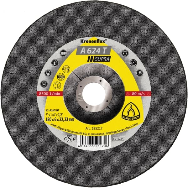 Crownflex A 624 T Supra Grinding Disc Image