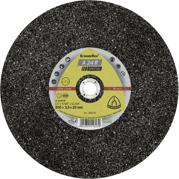 Crownflex A 24 R Special Large Cutting Disc Image