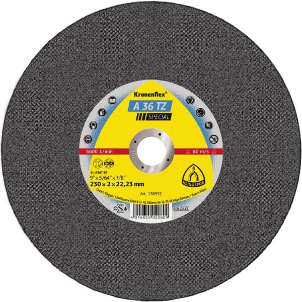 Crownflex A 36 TZ Special Cutting Disc Image