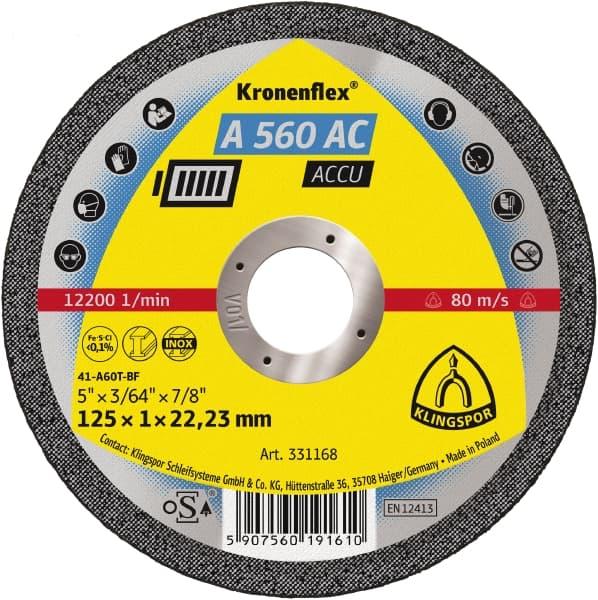 Crownflex A 560 AC ACCU Cutting Disc Image