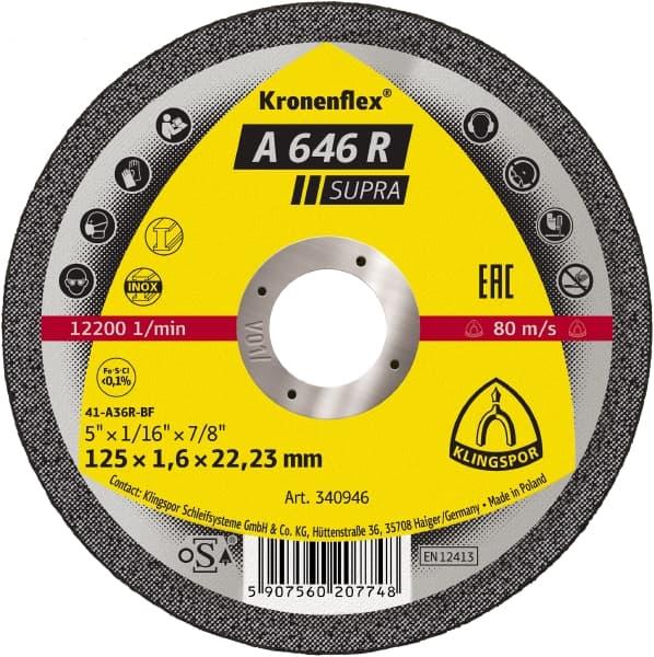 Crownflex A 646 R Supra Cutting Disc Image