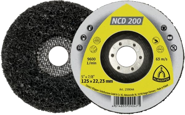 NCD 200 Cleaning Wheel Image