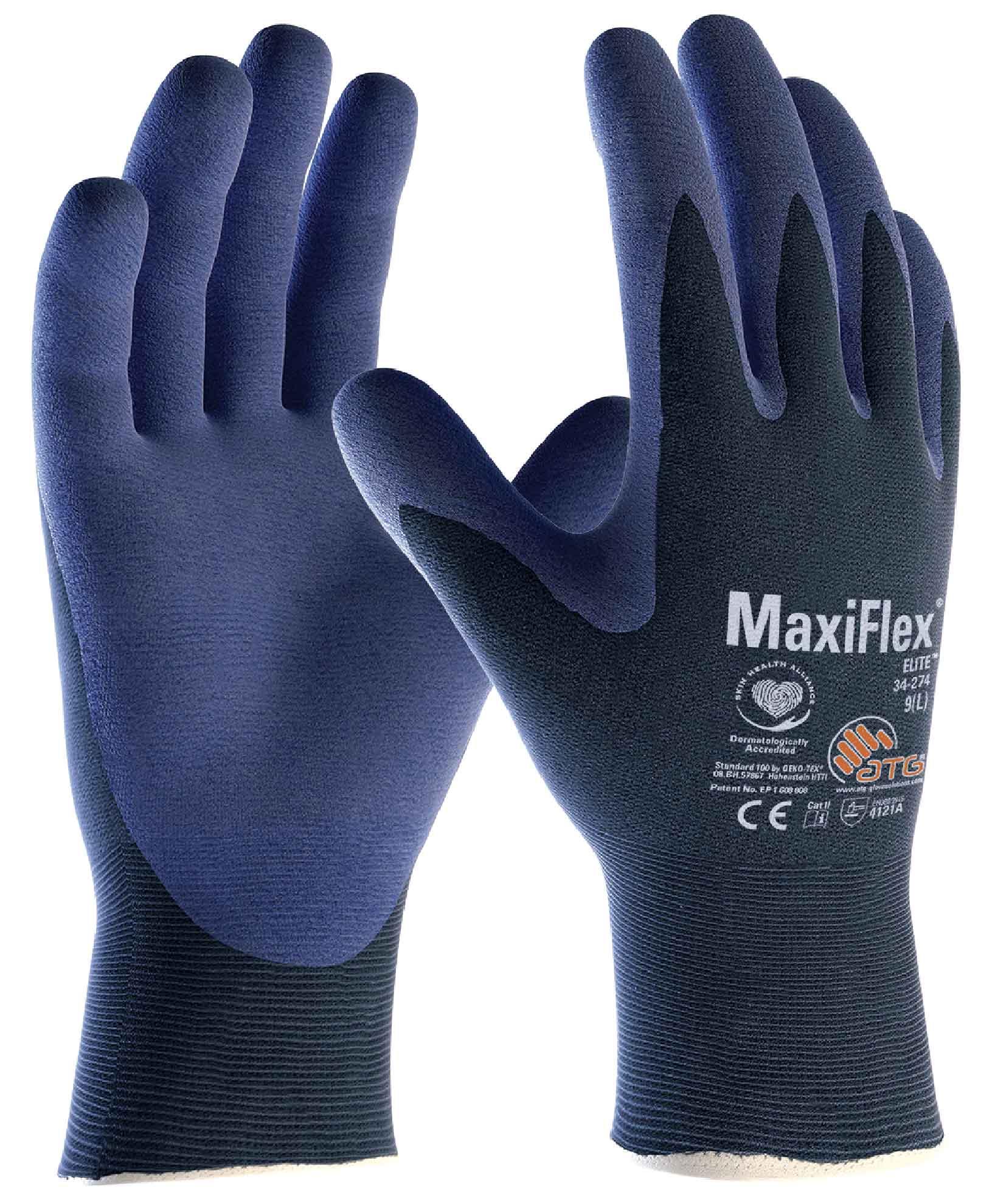 34-274 MaxiFlex® Elite™Palm Coated Image