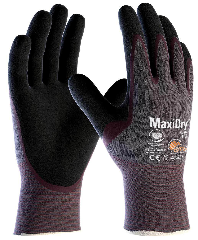 56-424 MaxiDry® Palm Coated Knitwrist Image